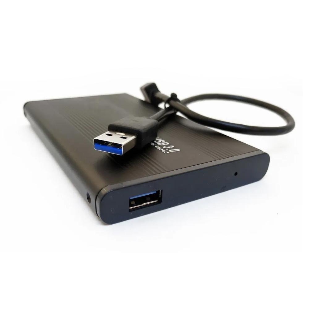 Case HD Externo Sistema de Armazenamento para HDD 2.5 Polegadas USB 3.0  - Mundo Thata