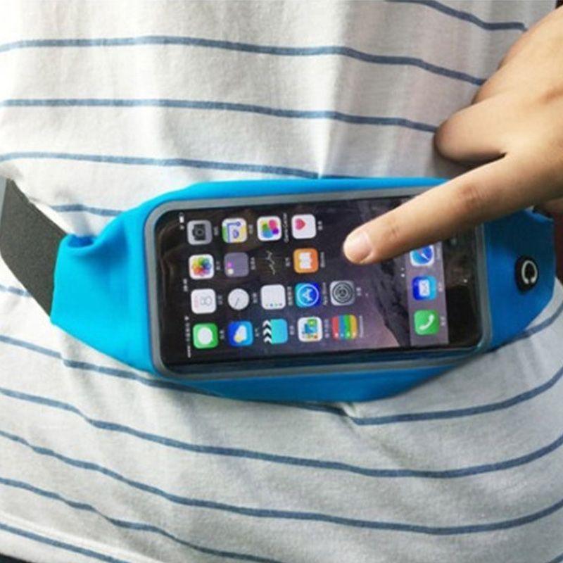 Cinto de Corrida Viagem Para celular Resistente a Água  - Thata Esportes