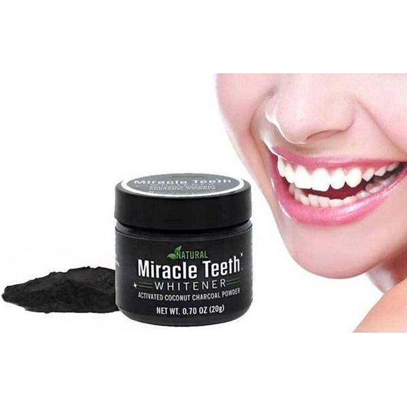 Clareador Dental Natural Miracle Teeth  - Mundo Thata