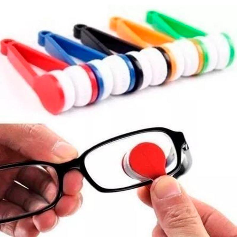 Clip Limpa Óculos e Lentes   - Thata Esportes