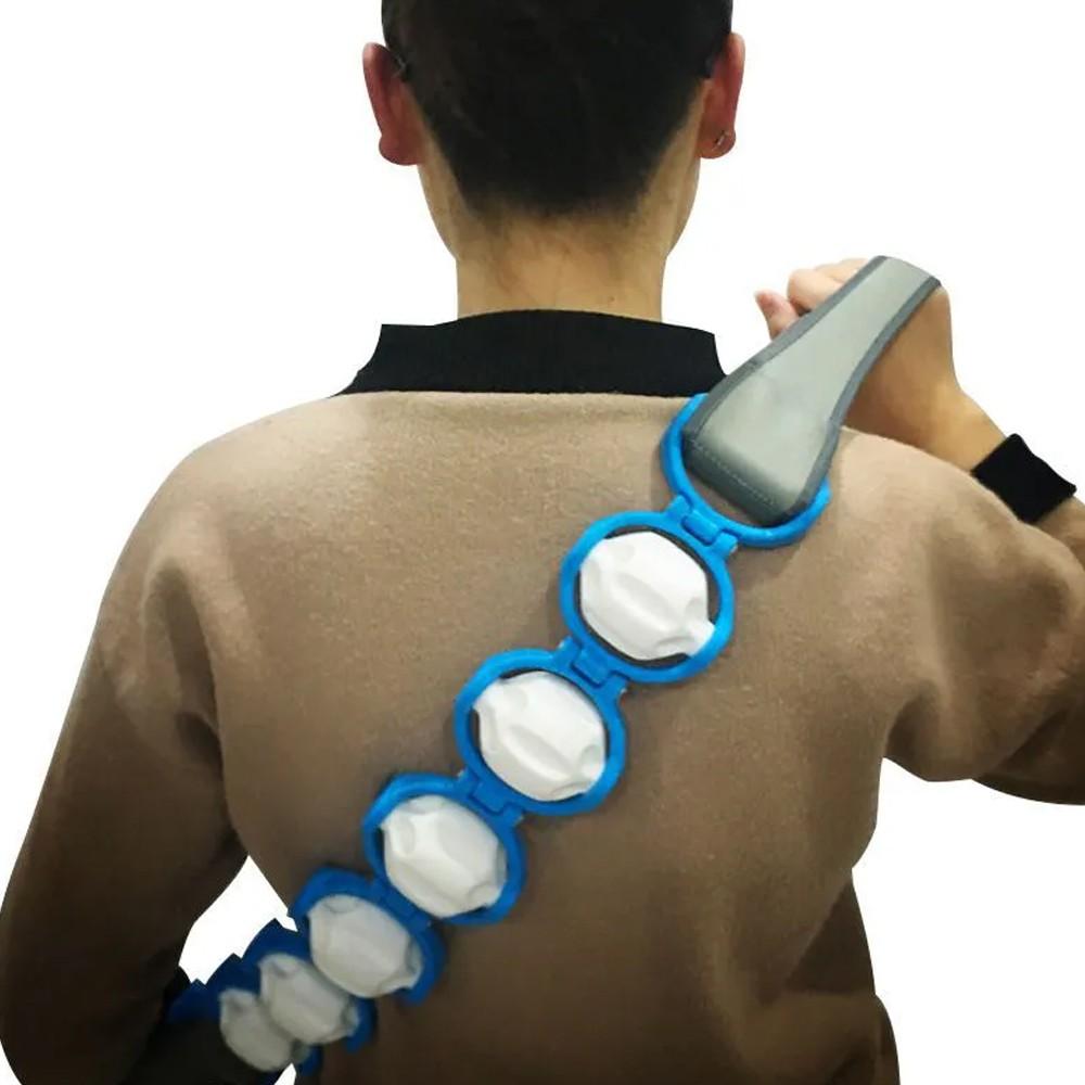 Corda Cinta Massageadora 6 Rolos Pernas Cordas Pescoço Barriga  - Mundo Thata
