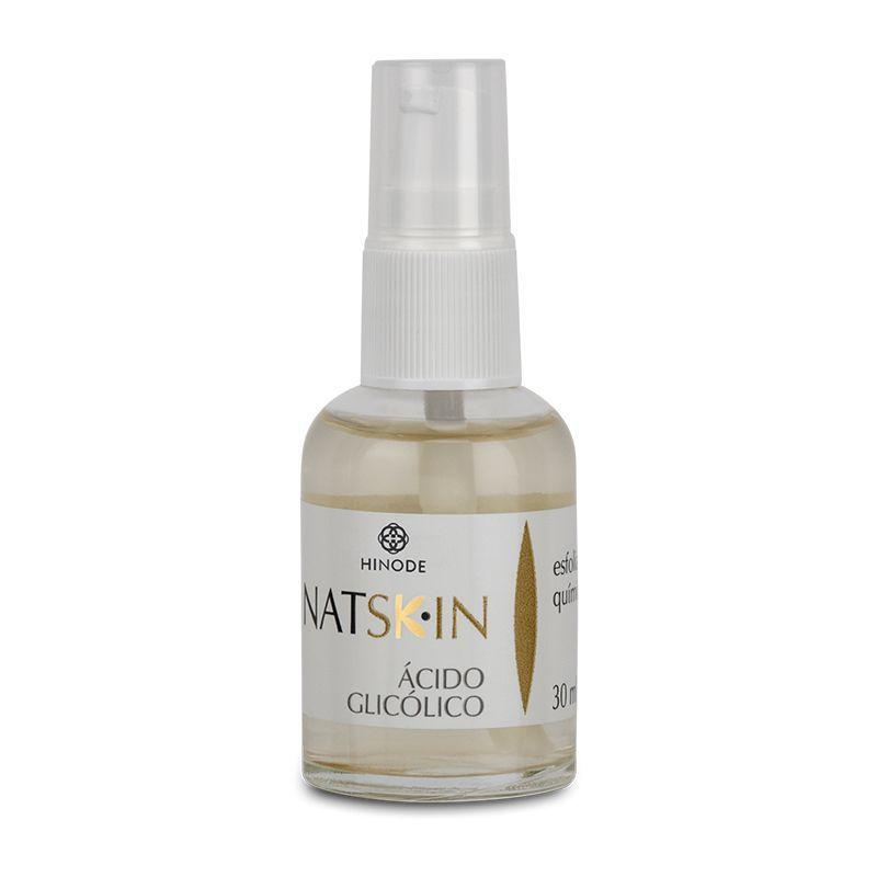 Esfoliante Ácido Glicólico Nat Skin Hinode 30ml  - Thata Esportes