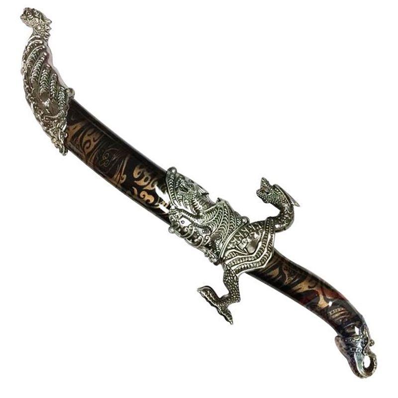 Espada Adaga Comemorativa Dragão  - Thata Esportes