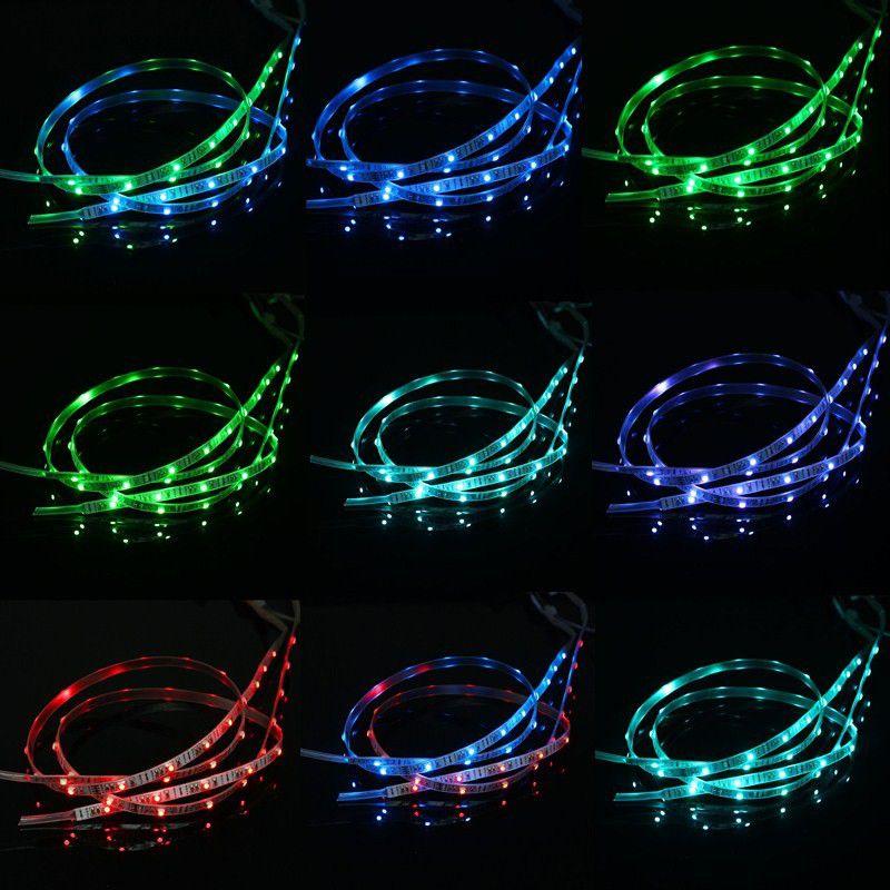 Faixa Fita 23 LEDs Colorido Energia Bateria 60 cm  - Thata Esportes