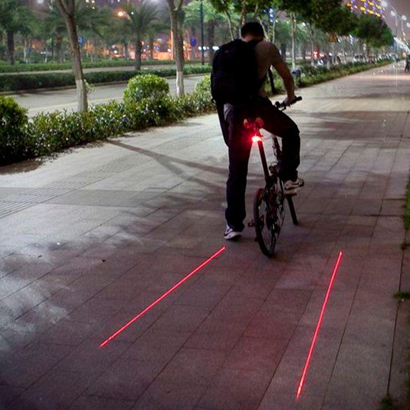 Farol Lanterna Bike Bicicleta Ciclovia Virtual Laser  - Thata Esportes