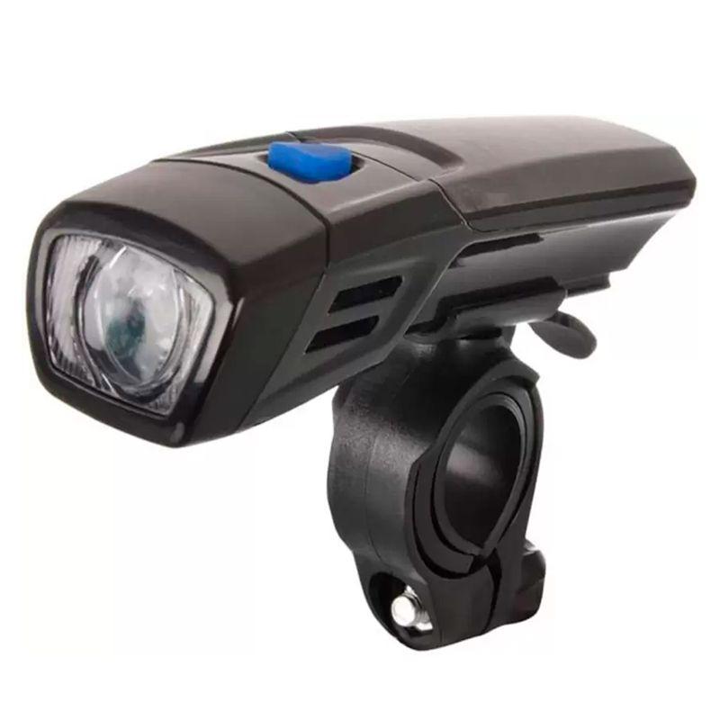 Farol Lanterna Dianteira LED Branco Para Bicicleta Bike  - Mundo Thata