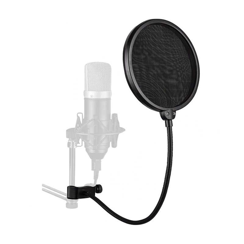 Filtro Anti Ruido Para Microfone Condensador Studio Pop  - Mundo Thata