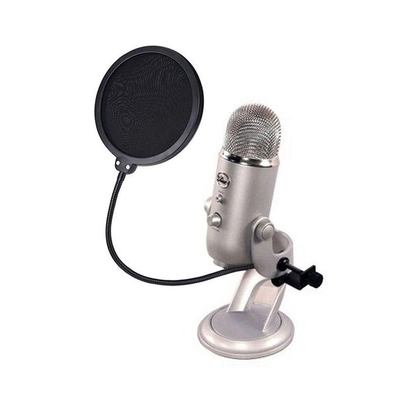 Filtro Anti Ruido Para Microfone Condensador Studio Pop  - Thata Esportes