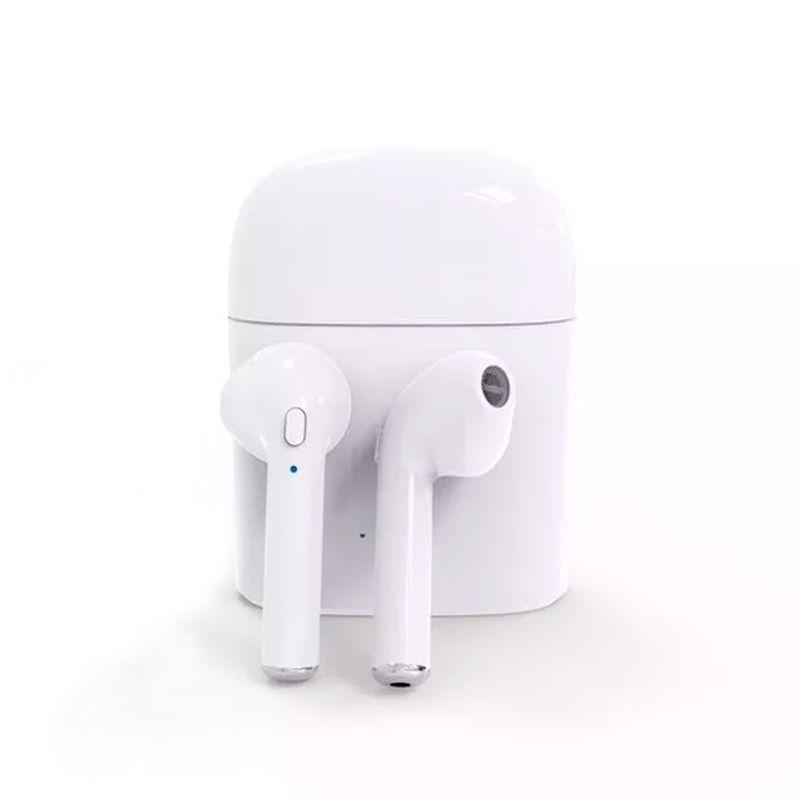 Fone De Ouvido Airpod Bluetooth I7s Tws Iphone Android Sem Fio  - Thata Esportes