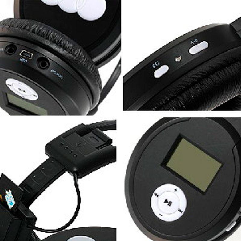 Fone de Ouvido Sem Fio Cartão de Memória SD MP3  - Thata Esportes