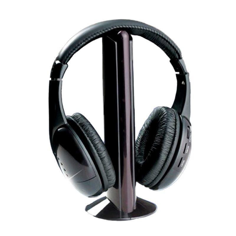 Fone de Ouvido Sem Fio Microfone Baba Eletrônica Radio FM  - Thata Esportes
