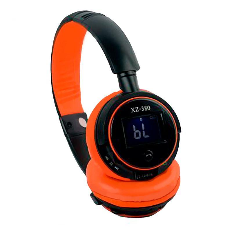 Fone Headphones Radio Fm Stereo Bluetooth XZ380  - Thata Esportes