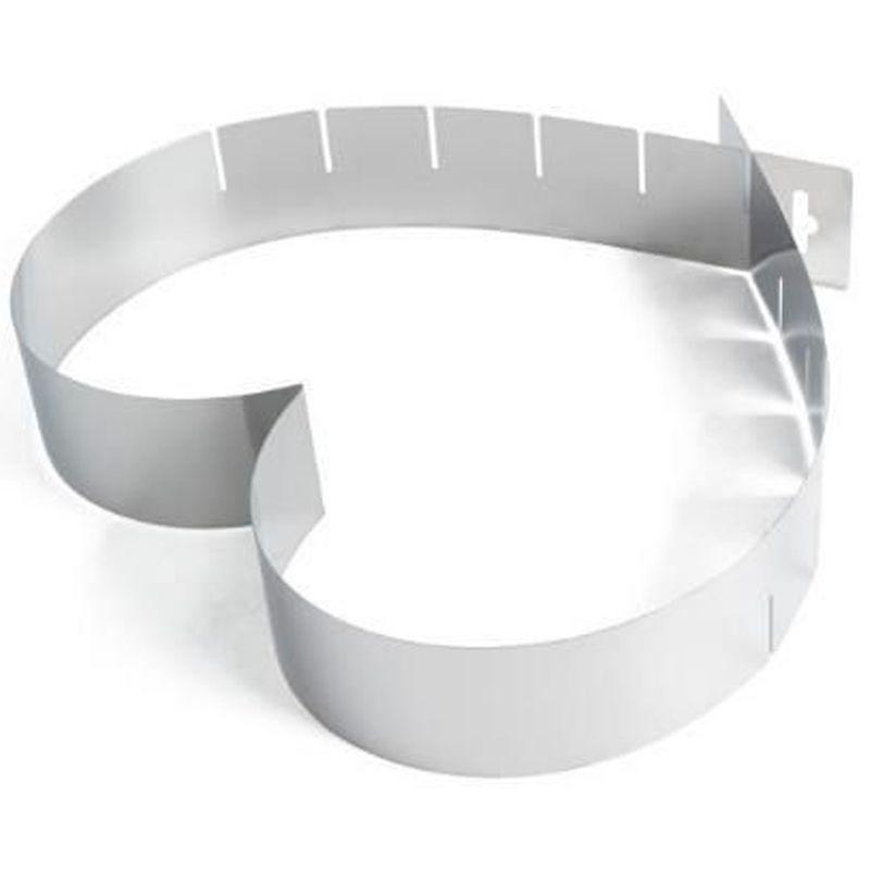 Forma Bolo Torta Coração Tamanho Regulável 15 - 28 cm  - Thata Esportes