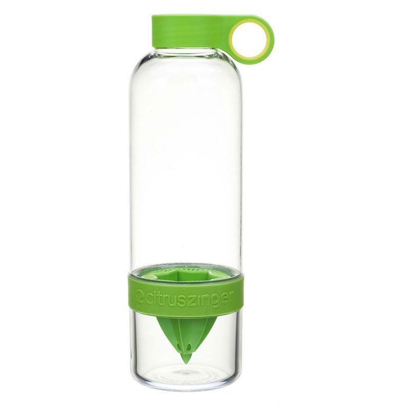 Garrafa de Água com Espremedor Citrus Zinger Infusão  - Thata Esportes