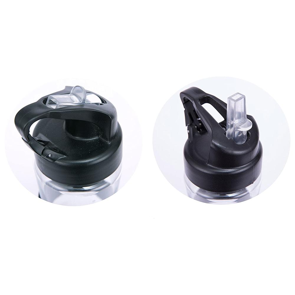 Garrafa Esportiva de Água com 4 modos de Iluminação Carregamento USB e Luz LED com Mosquetão 650 mL  - Mundo Thata