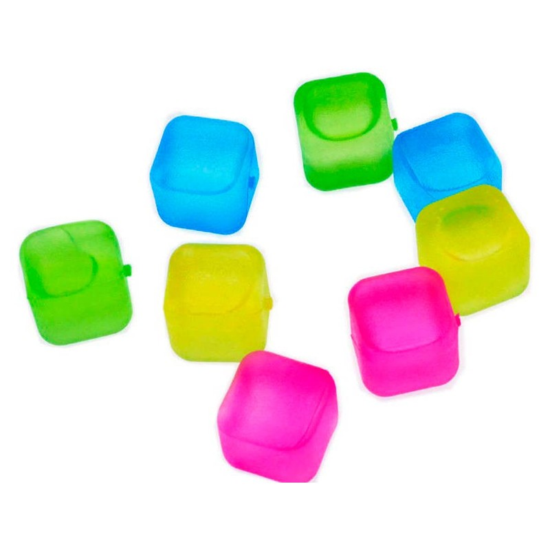 Gelo Ecológico Cubo de Congelar - Kit com 8 cubos  - Thata Esportes