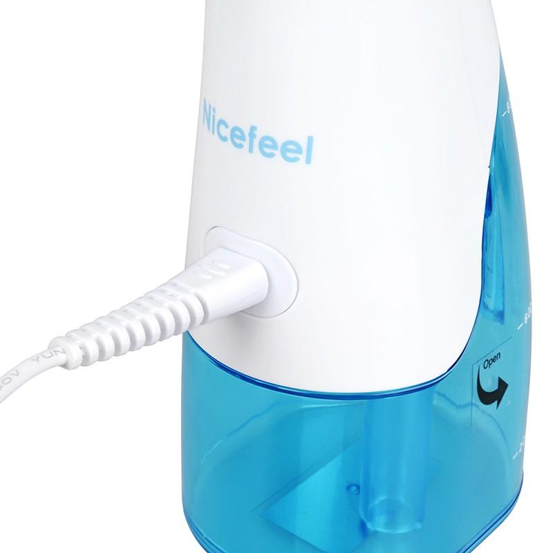 Irrigador Oral Portátil Recarregável Jato de Água 220 ml Nicefeel  - Thata Esportes