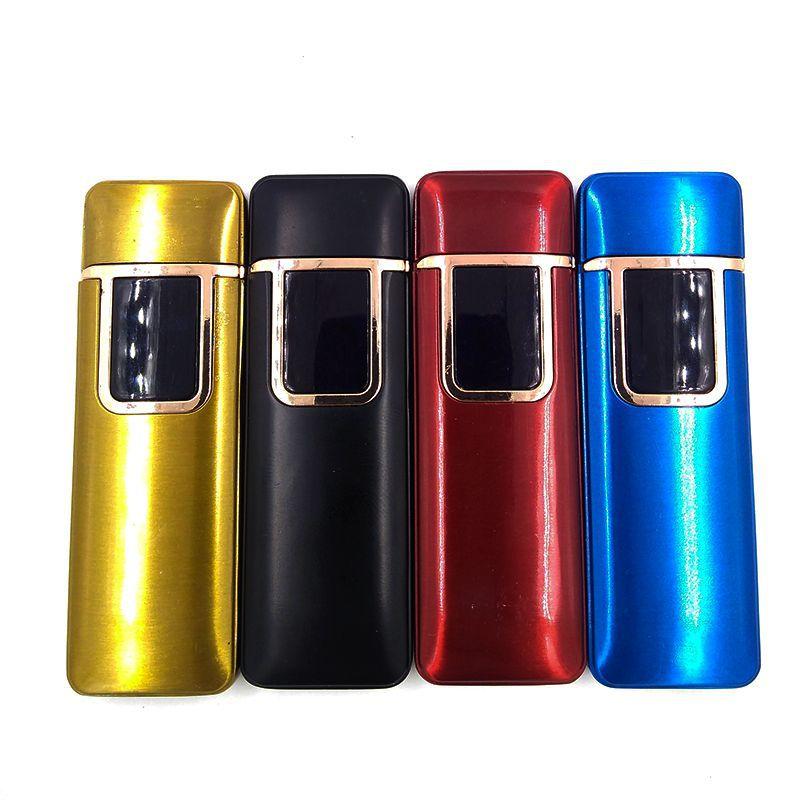 Isqueiro com Acendimento Eletrônico Elétrico USB Recarregável Ecológico C50323  - Mundo Thata