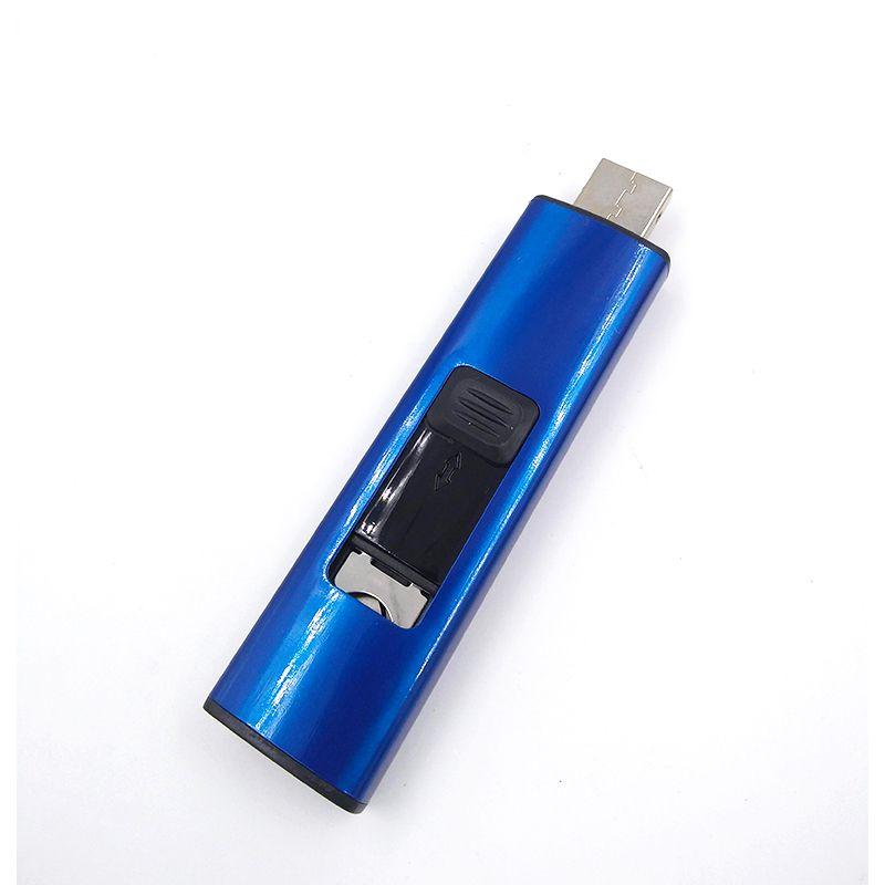 Isqueiro Eletrônico com Acendimento Elétrico USB Recarregável Ecológico C50318  - Mundo Thata