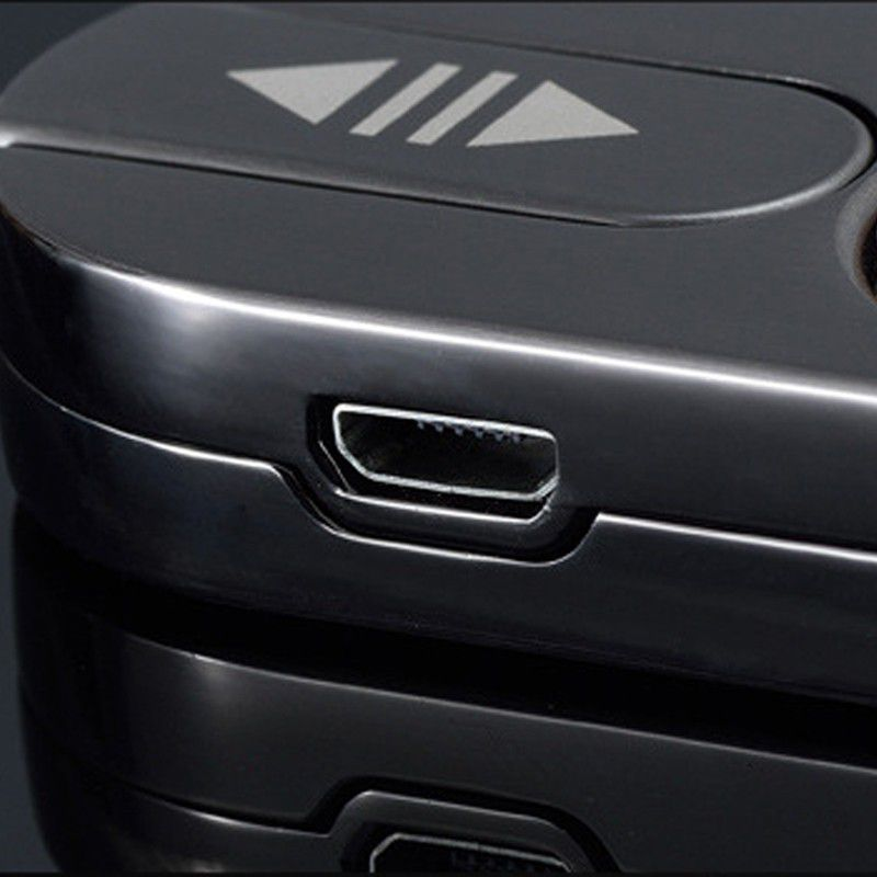 Isqueiro Eletrônico Recarregável Anti Vento Para Cigarro  - Thata Esportes