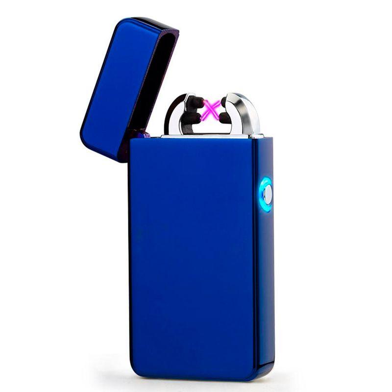 Isqueiro Plasma Eletrônico com Acendimento Elétrico USB Recarregável Ecológico C50321   - Mundo Thata