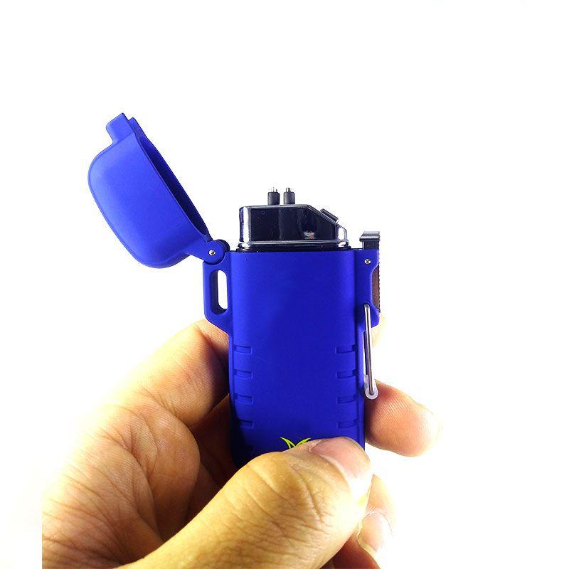 Isqueiro Plasma Eletrônico com Acendimento Elétrico USB Recarregável Ecológico HZ-02-003  - Mundo Thata