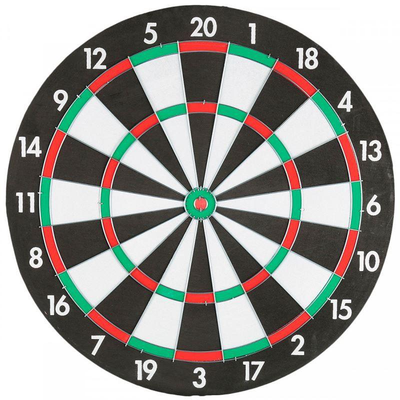 Jogo de Dardo Alvo Dupla Face 4 Dardos  - Thata Esportes