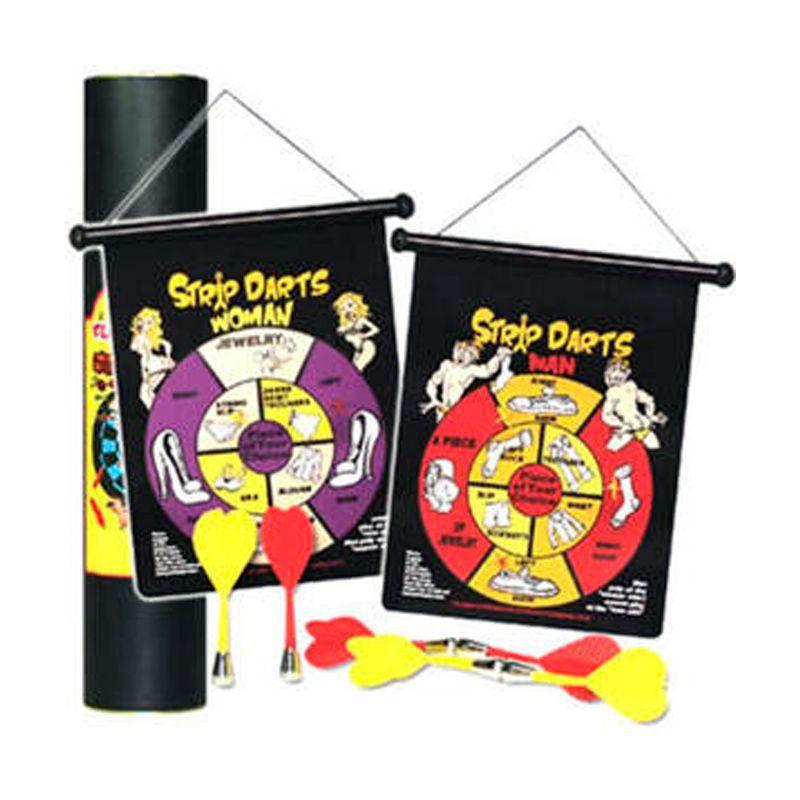 Jogo de Dardos Magnéticos Strip Tease Dupla Face - Caixa 36 Unidades  - Thata Esportes