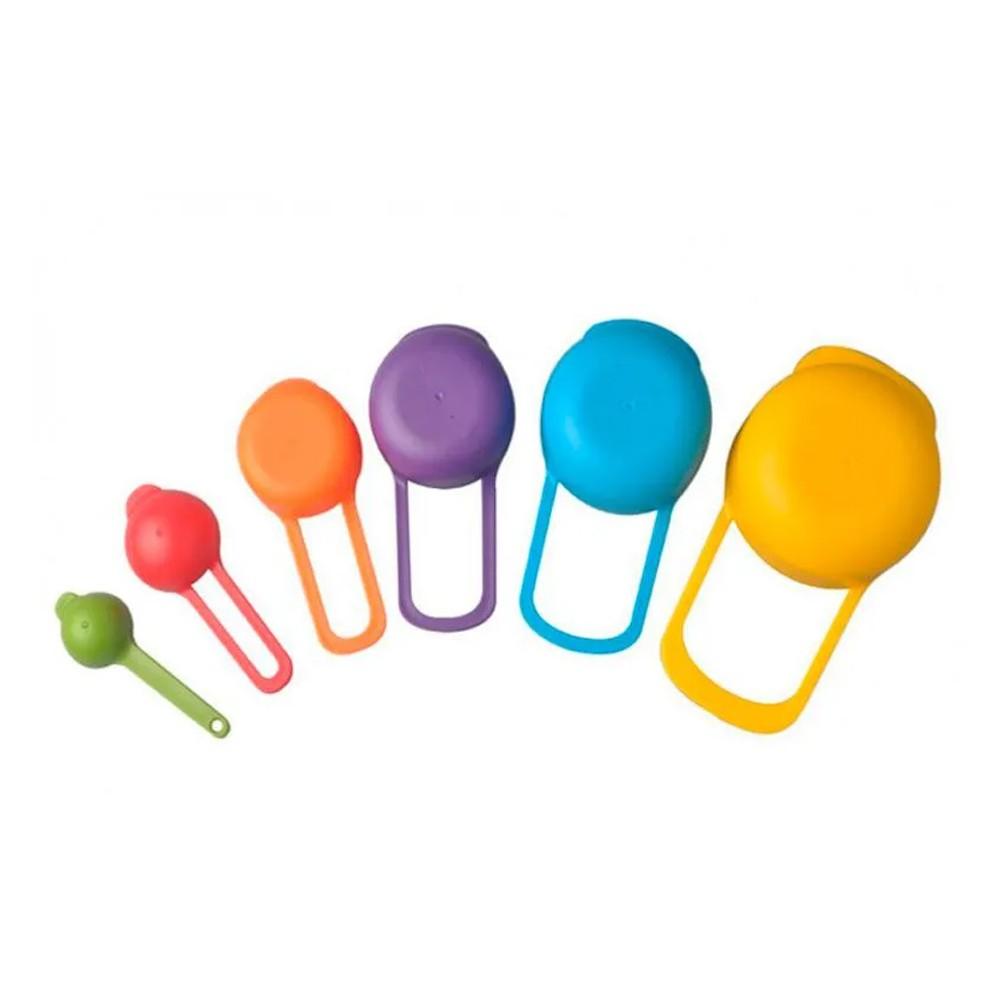 Kit 06 Medidores De Cozinha Encaixáveis Xícara Colher Copo  - Mundo Thata