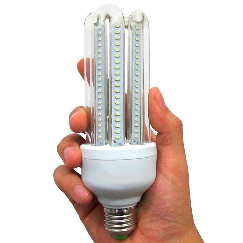 Kit 10 Lâmpadas 7 Watts LED 3U  90% Econômica   - Thata Esportes