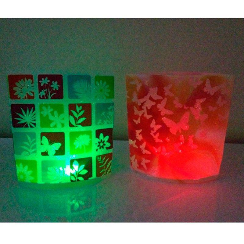 Kit com 2 Abajures Luminárias Dobráveis de LED  - Thata Esportes