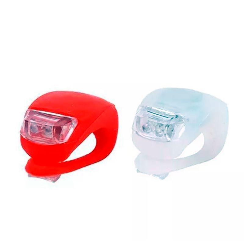 Kit 2 Lanternas Lâmpada de Alerta LED Sinalizadora para Bicicleta  - Mundo Thata