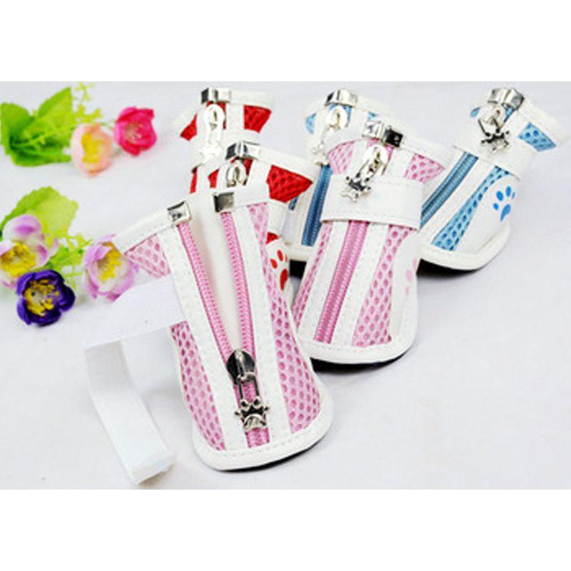 Kit 4 Sapatos Anti Derrapantes para Cães Gatos  - Thata Esportes
