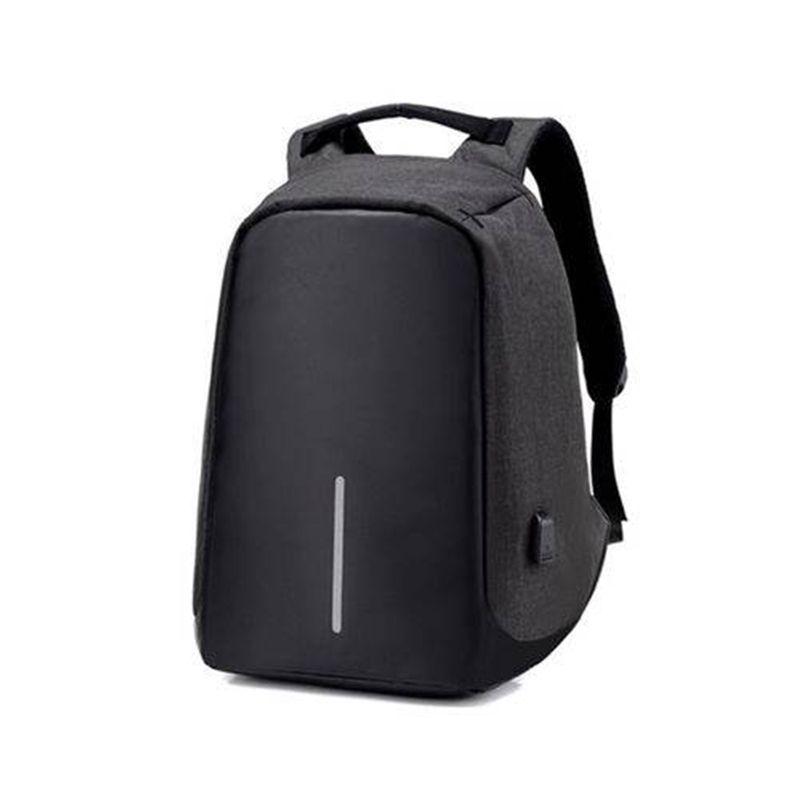 Kit 25 Mochilas Anti-Furto Preta Compartimento Para Notebook Laptop Saída USB Carregamento De Dispositivos  - Thata Esportes