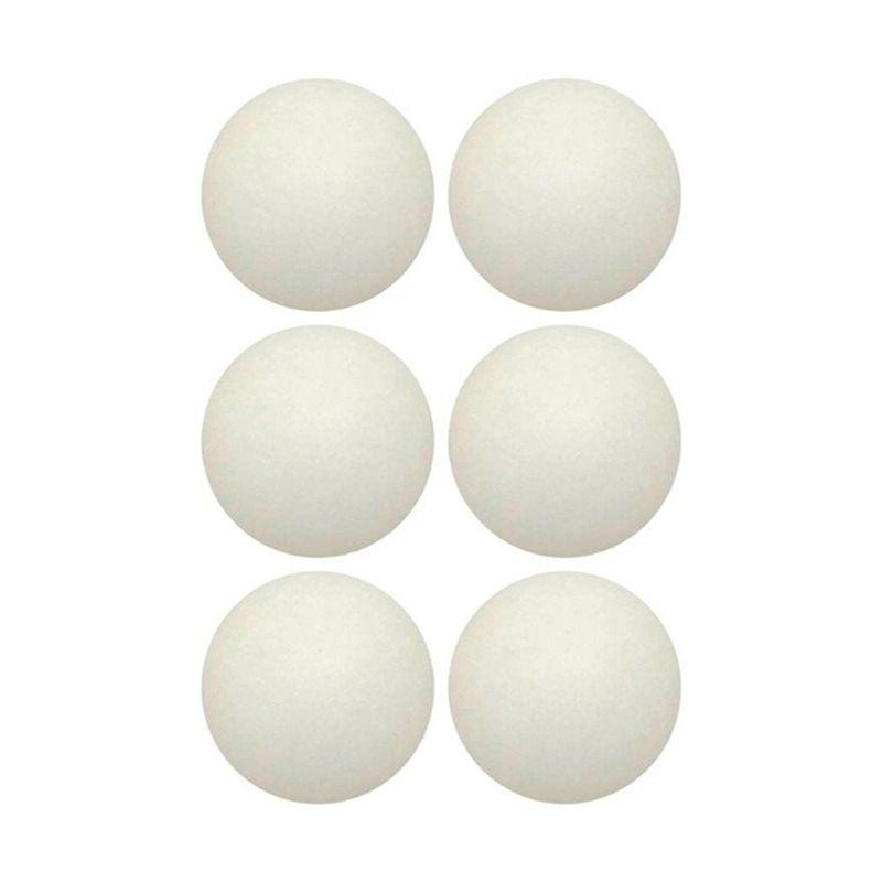 Kit 6 Bolinhas Ping Pong Tênis de Mesa  - Mundo Thata