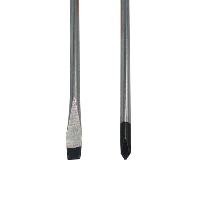 Kit 6 Chaves de Fenda e Phillips Pontas Magnéticas Cabo Grande  - Thata Esportes