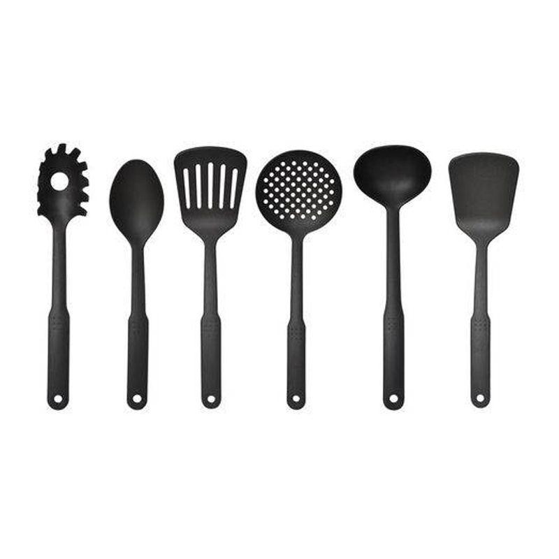 Kit 6 Utensílios de Cozinha Doméstico  - Thata Esportes