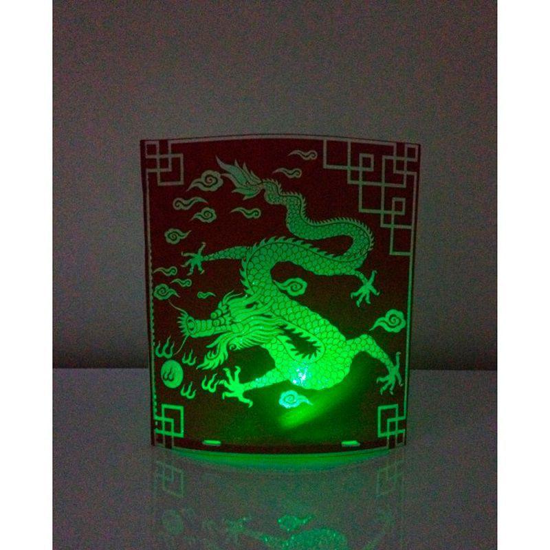 Kit com 4 Abajures Luminárias Dobráveis de LED  - Mundo Thata