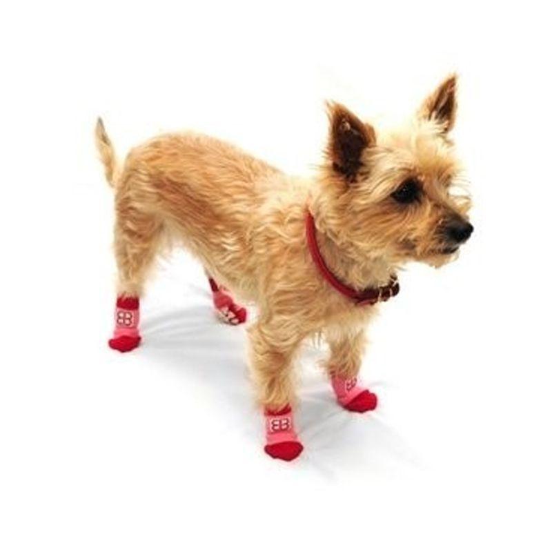 Kit 4 Meias Antiderrapantes para Cachorros e Gatos  - Thata Esportes