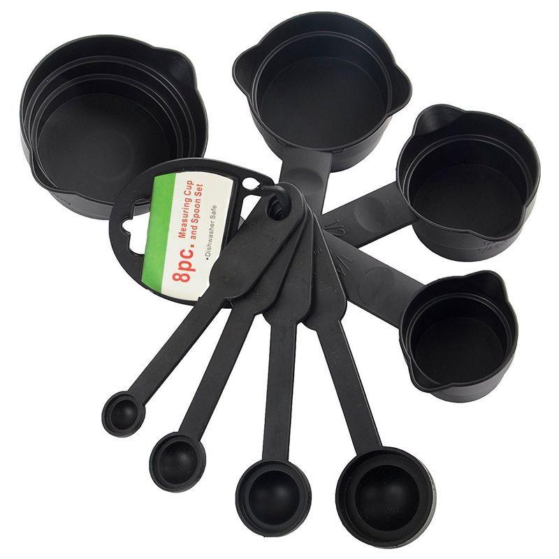 Kit Conjunto 8 Colheres Medidoras Xícara Medidas  - Mundo Thata