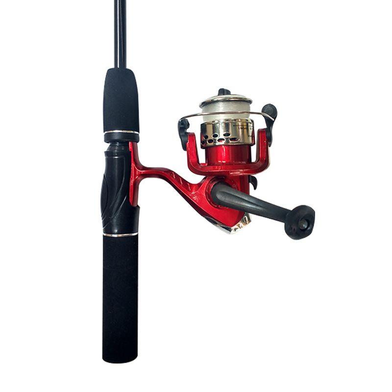 Kit de Pesca com Molinete Vara 1,65 m 53 Acessórios Western  - Mundo Thata