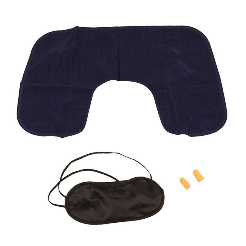 Kit Descanso Relax 3 em 1 Almofada Máscara Tapa Ouvidos  - Mundo Thata