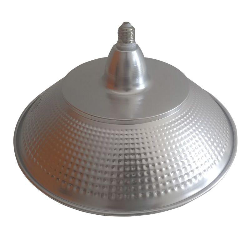 Kit Lampada Luminária LED Refletor Industrial High Bay Light 80W Adaptador   - Mundo Thata