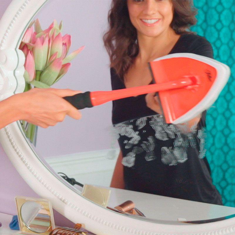 Kit Limpeza Super Rodo 360° Limpa Vidro Espelho Janela  - Mundo Thata