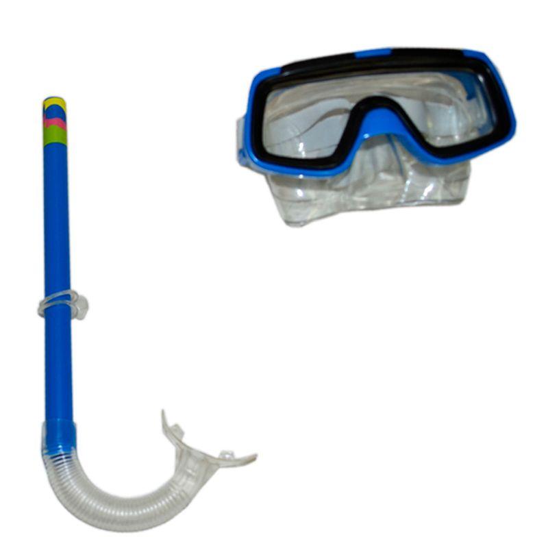 Kit Mergulho Máscara + Snorkel/ Respirador Infantil  - Thata Esportes