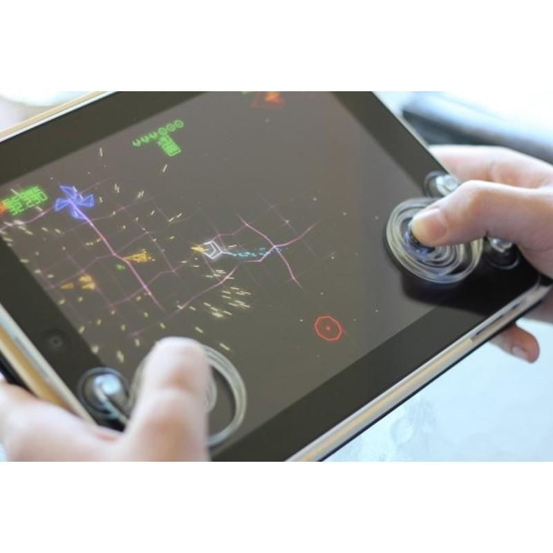 Mini Fling Analógico Portátil Joystick Controle Smartphone Dupla Ventosa  - Thata Esportes