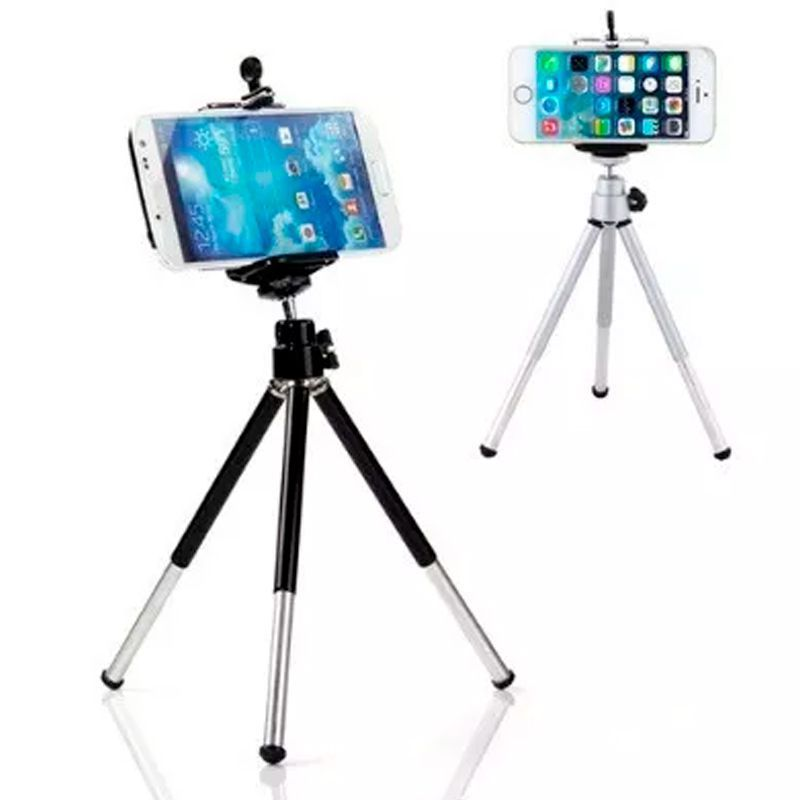 Kit Tripé Luneta Telescópica Zoom 8x Case para iPhone 4 4s  - Thata Esportes