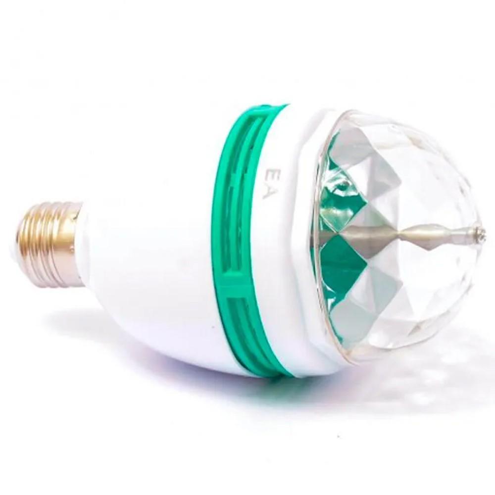 Lâmpada Giratória LED RGB para Festas  - Mundo Thata