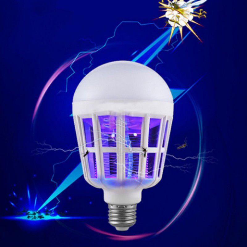 Lâmpada LED Mata Mosquito 2 em 1  - Mundo Thata
