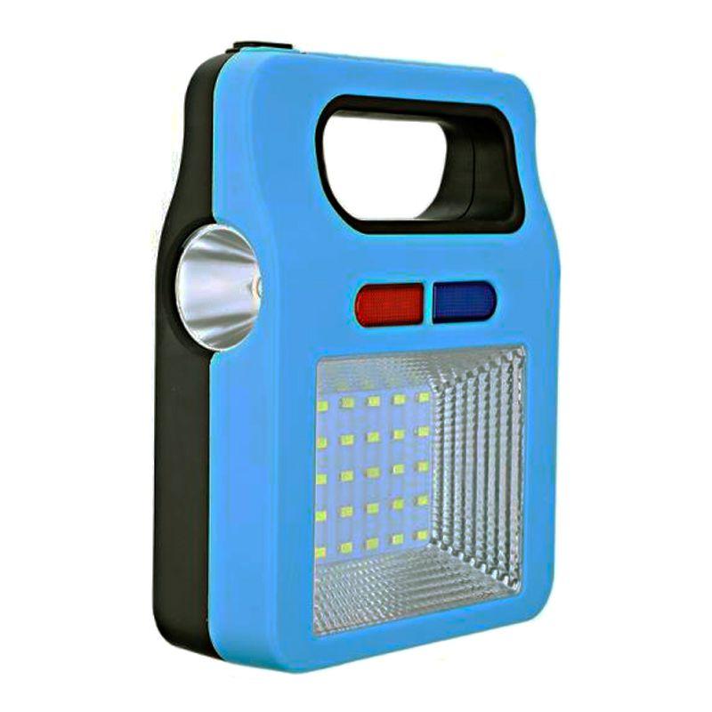 Lâmpada Luminária Lanterna Painel Solar Luz LED Emergência USB Pesca Pescaria Camping  - Thata Esportes